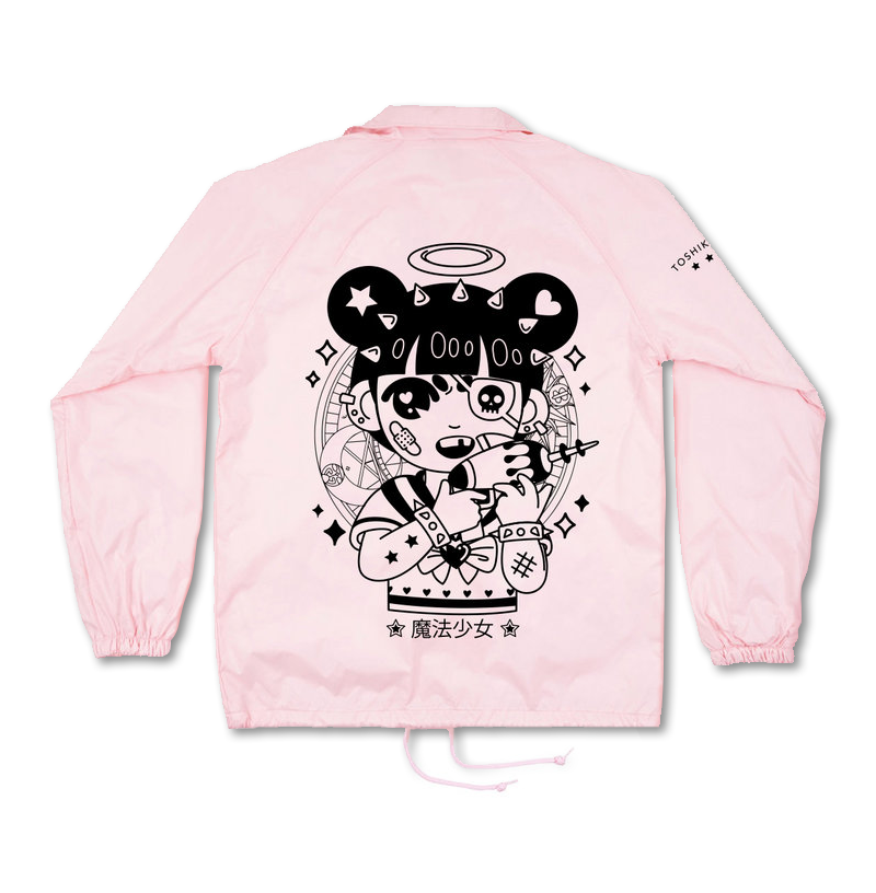 Pink Magical Girl Windbreaker