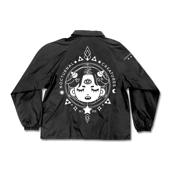 50% OFF BOTCHED: Nocturnal Windbreaker - Black