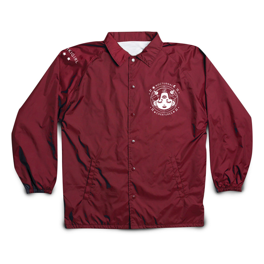Nocturnal Windbreaker - Maroon