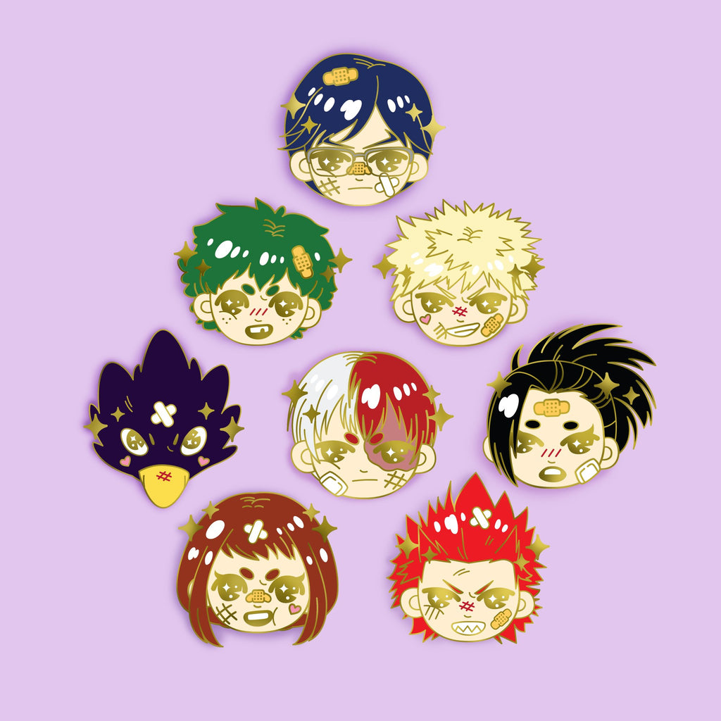 [PRE-ORDER] SET OF 10 BNHA - Enamel Pin -  LIMITED EDITION