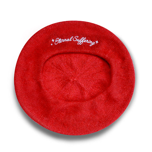 Eternal Suffering Beret - Red