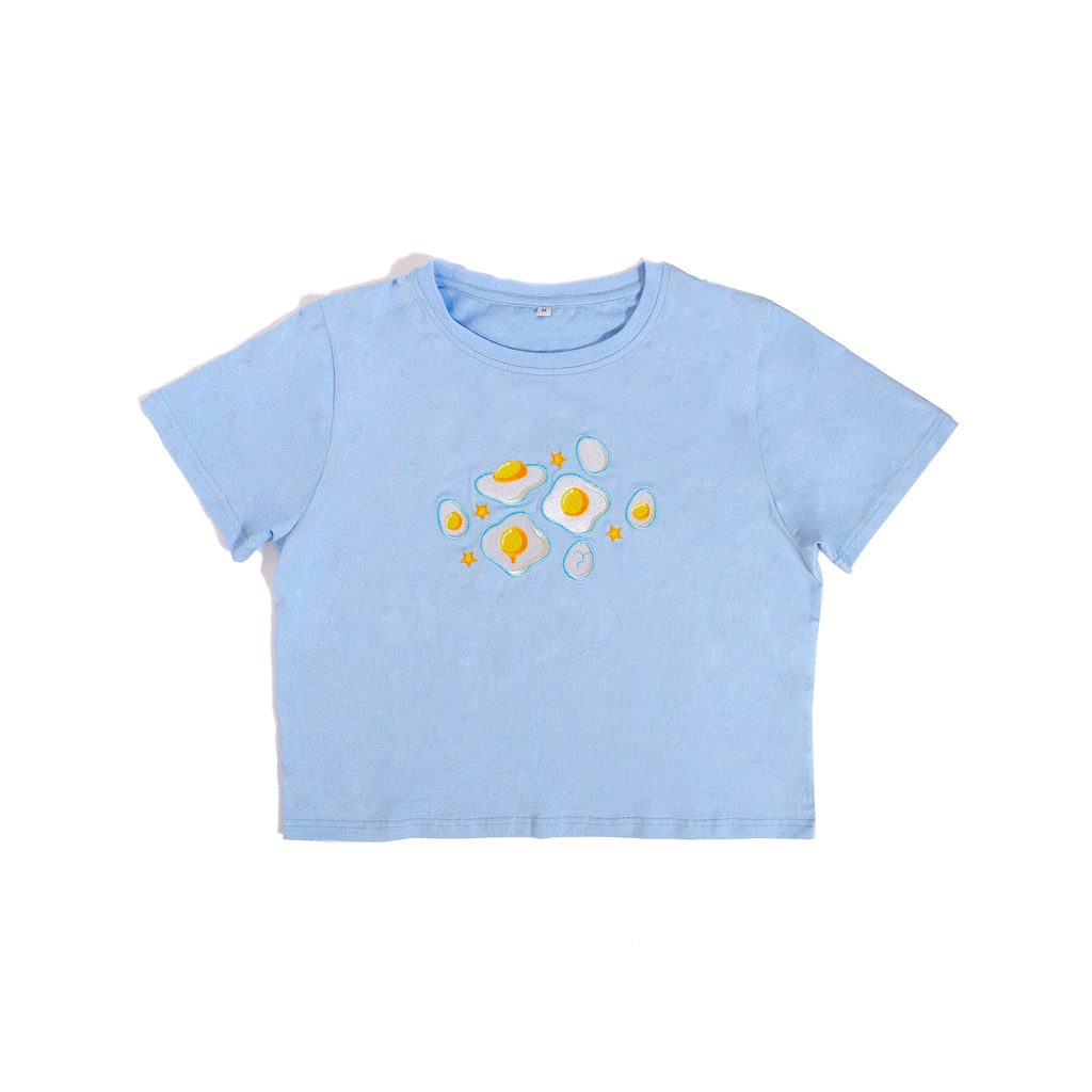 BIBEE Eggie Embroidered Top
