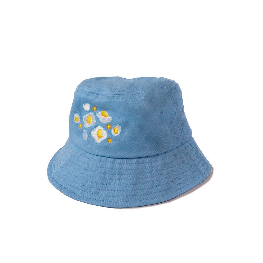 BIBEE Eggie Embroidered Bucket Hat