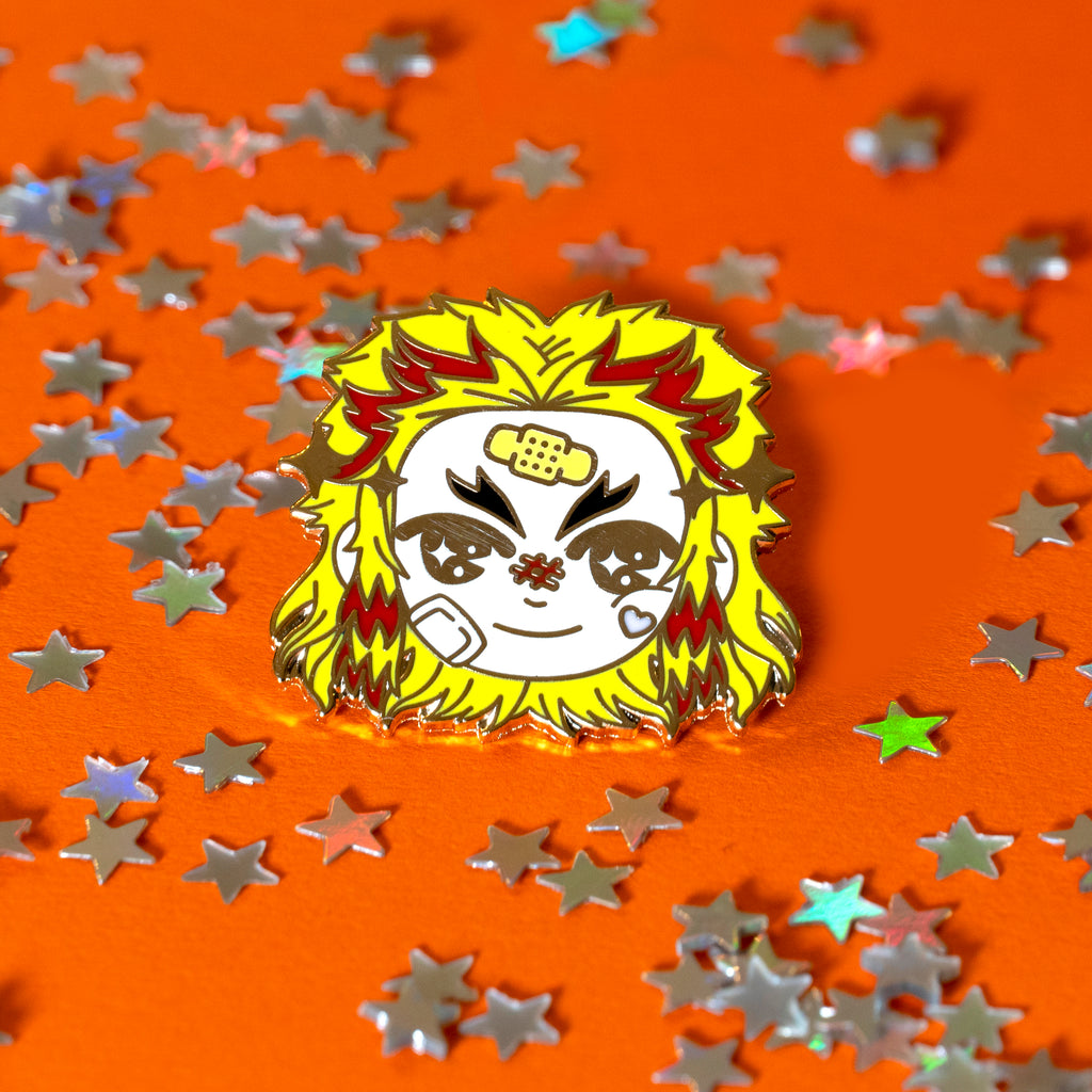 Kyojuro Rengoku - Enamel Pin -  LIMITED EDITION