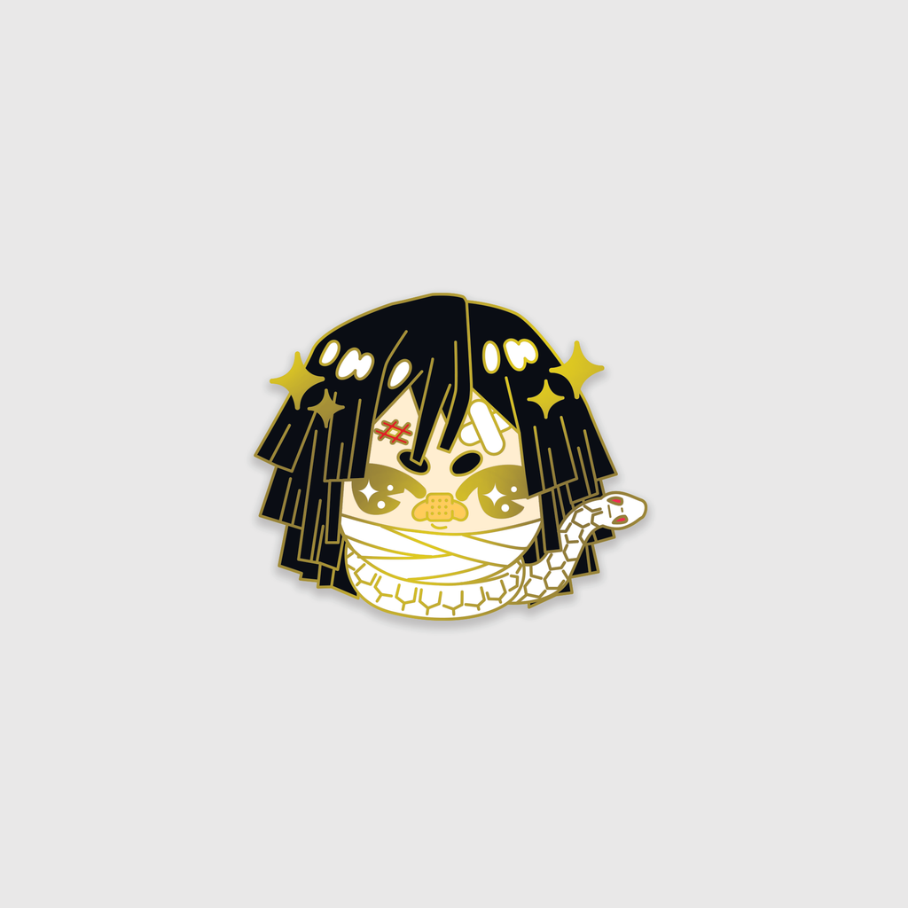 Obanai Iguro - Enamel Pin -  LIMITED EDITION