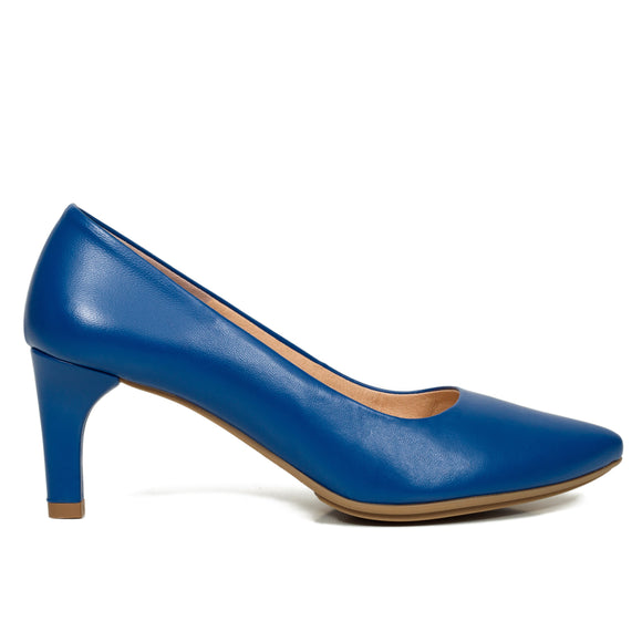 URBAN STILETTO – MARINEBLAUE Stiletto Damen Schuhe mit Pfennigabsatz 6.5 cm