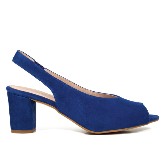 PEEPTOES - MARINEBLAUE DAMEN PEEPTOES SLINGPUMPS