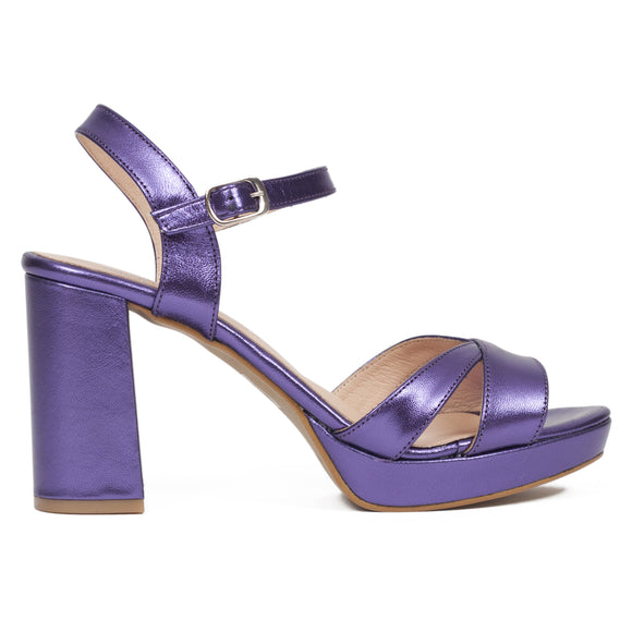 Damen Plateau Sandaletten V Magic Lavender