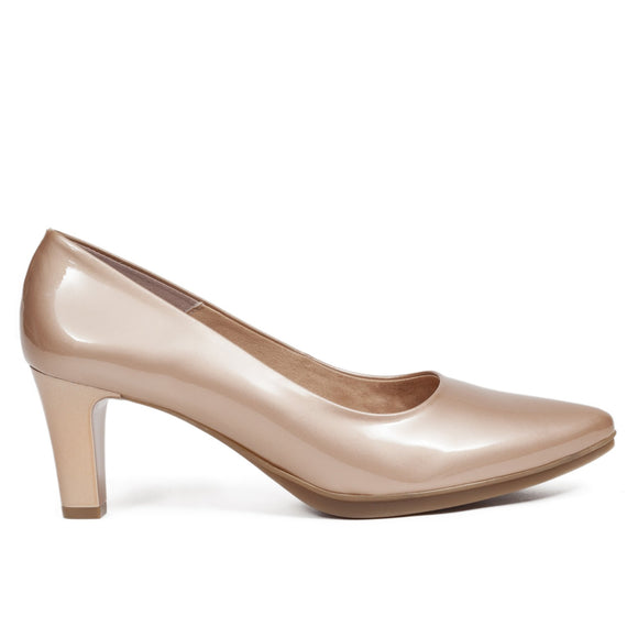 Pumps Urban Lackleder Gold