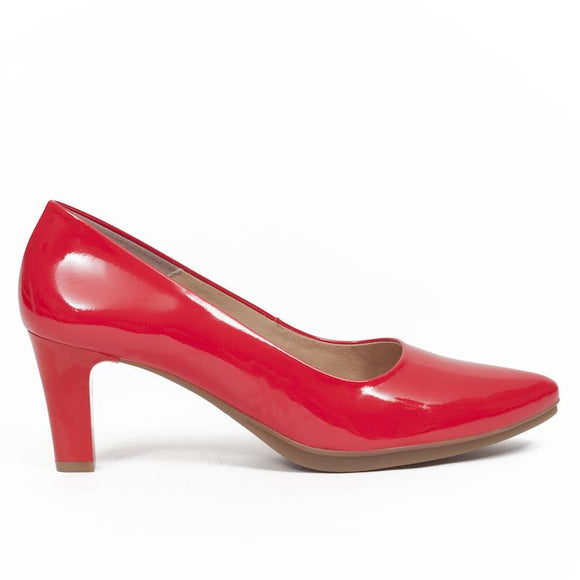Pumps Urban Lackleder Rot