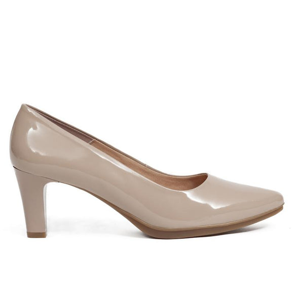 Pumps Urban Lackleder Nude
