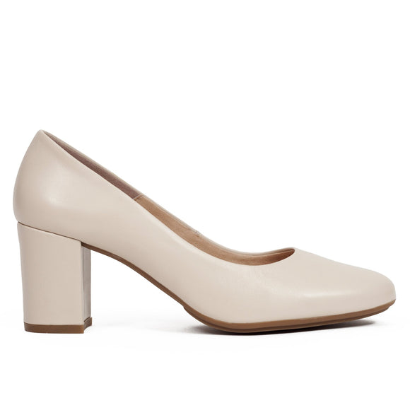 Pumps Urban Rundspitze Nude