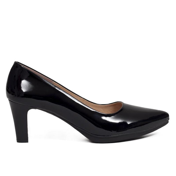 Pumps Urban Lackleder Schwarz