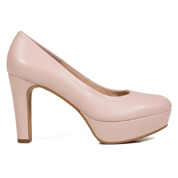 PARTY- ROSA PUMPS MIT PLATEAU