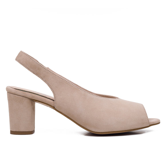 PEEPTOES - BEIGE DAMEN PEEPTOES SLINGPUMPS