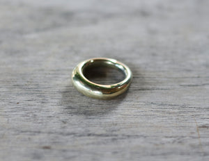 GEDE - Bronze Organic Form Chunky Ring