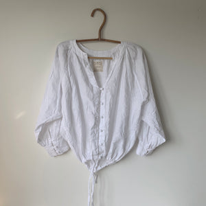 DUNE - Linen Blouse Top