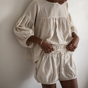 JULIAN - Blouse & Short Set
