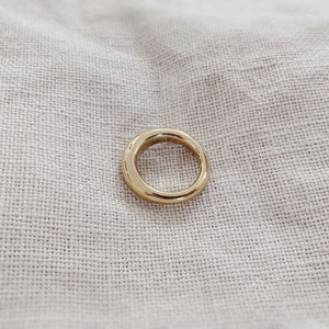 18k Gold GEDE - Organic Form Chunky Ring