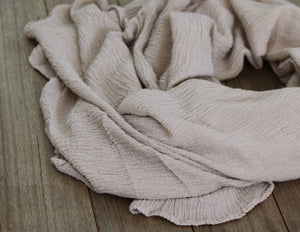 SIA - Large Linen Crinkle Shawl