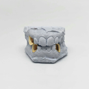 Custom Chrome Tripple Cap Grillz