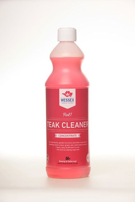 Teak Cleaner (Part 1)