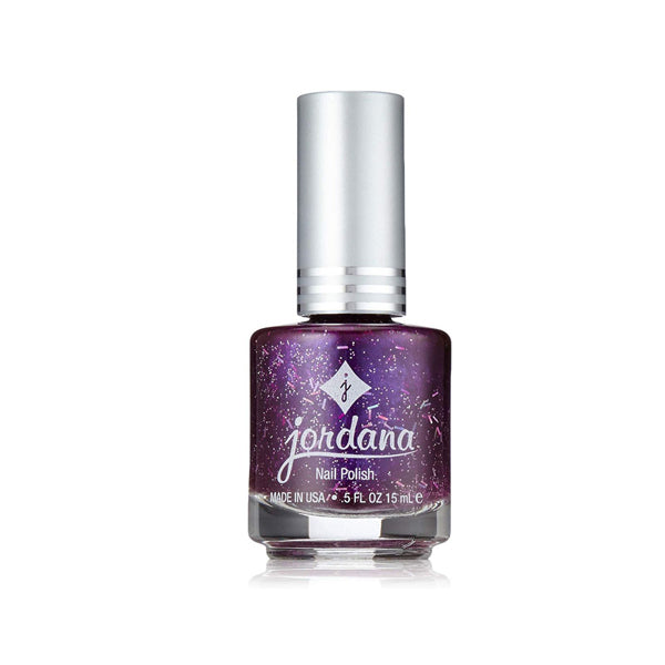 Nail Polish Glitter Purple 965