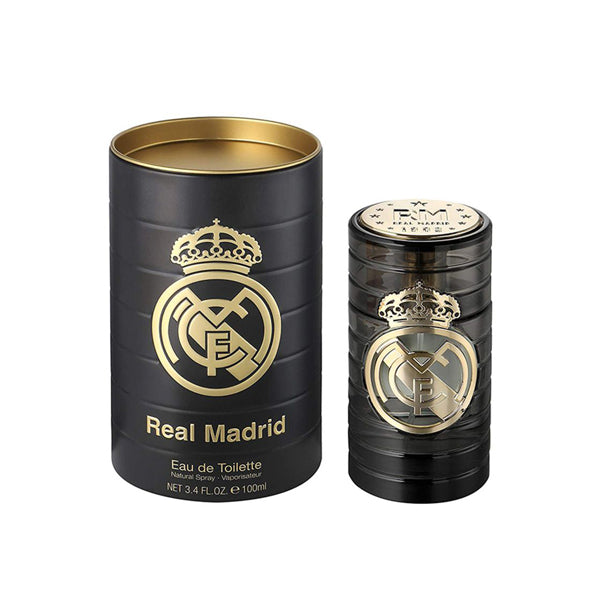 REAL MADRID  FOR MEN EDT  ( Metal box )
