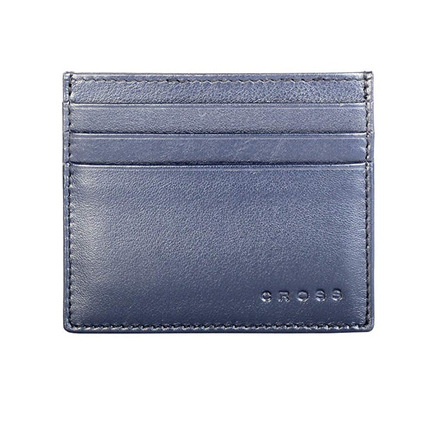 CROSS Credit Card Case Navy Blue 4144