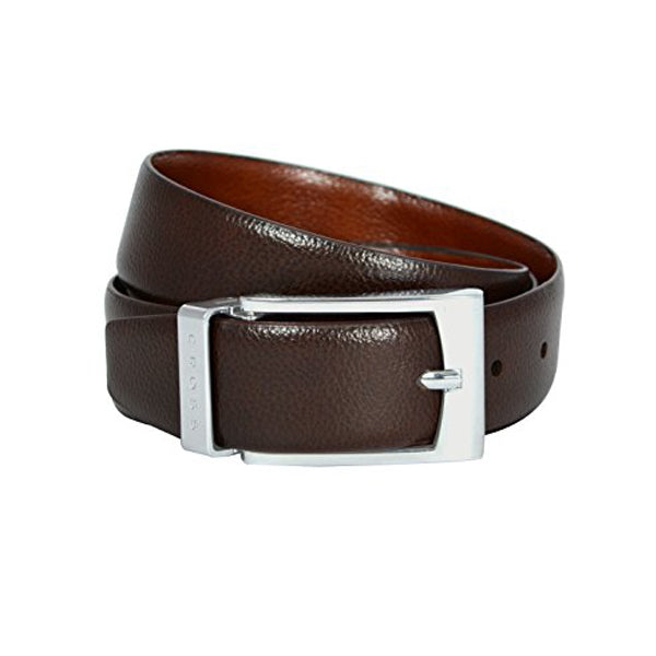 CROSS BELT Concert35mm Pronged Buckle BROWN/TAN 2553