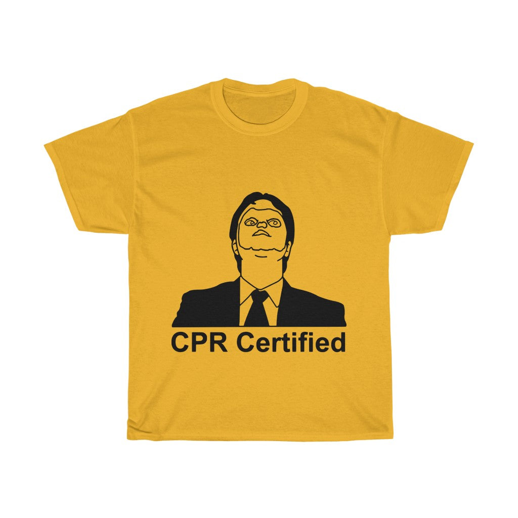 CPR Certified Tshirt