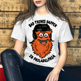 Bad Things Happen in Philadelphia Funny Gritty Vintage Philly Pride Vote 2020 Presidential Elections T Shirt
