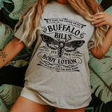 Buffalo Bills Body Lotion Hannibal Silence of the Lambs T Shirt