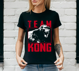 Team King Gorilla T Shirt Ape King Movie Rampaging Monster Kong Skull Island Tee