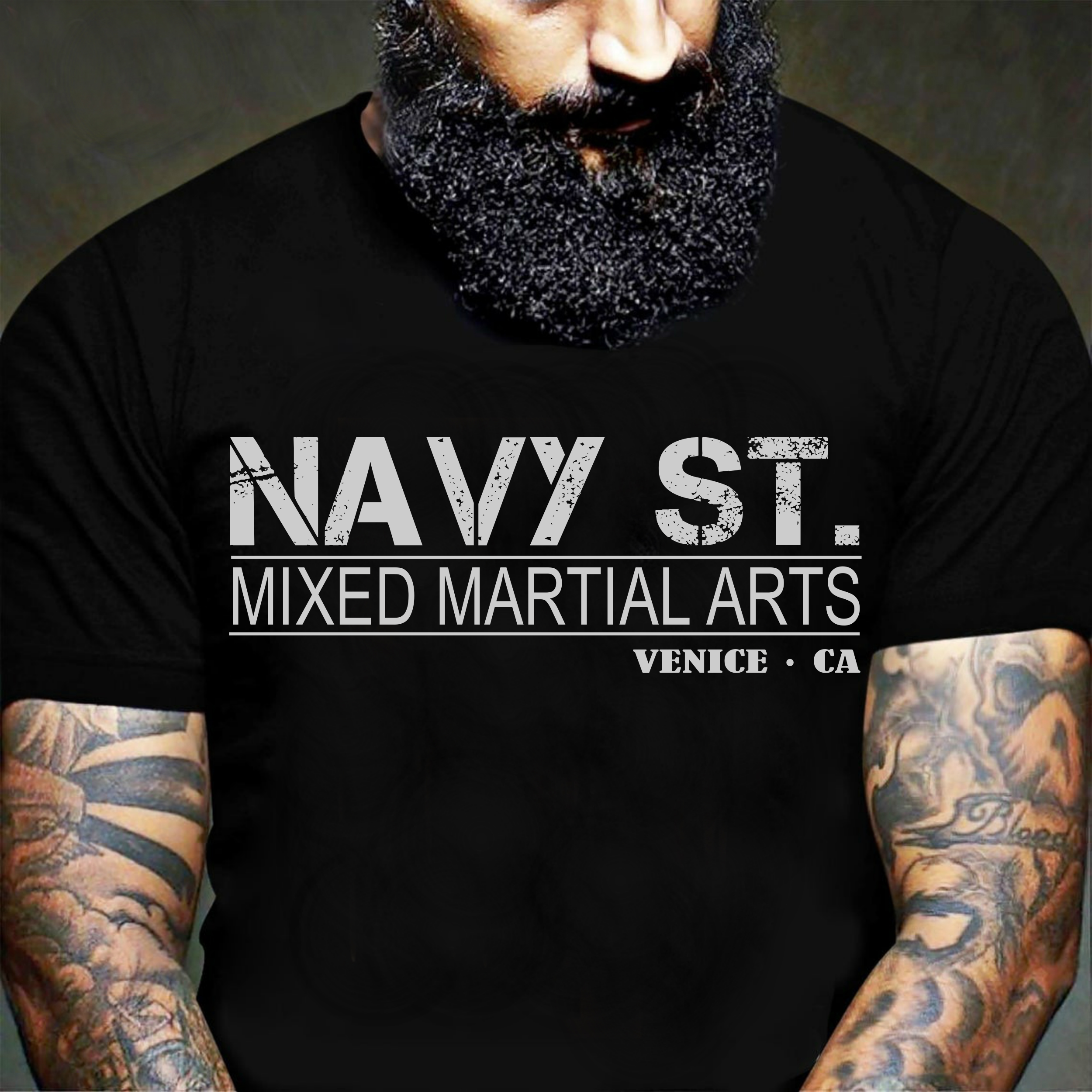 Navy St T Shirt Kingdom Netflix TV Series Mixed Martial Arts MMA Fight Tee