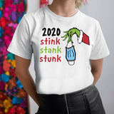 2020 Stink Stank Stunk T Shirt Funny Christmas Tee Grinch Holiday Gift T-Shirt