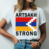 Artsakh Strong T Shirt Armenian Patriotic Peace Flag Haxteluenq Duxov recognize Artsakh Armeniastrong Tee