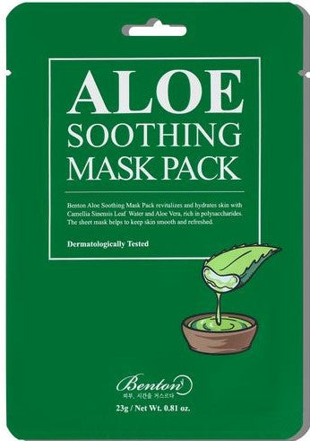 Benton-aloe-soothing-pack-tencel-sheet-mask