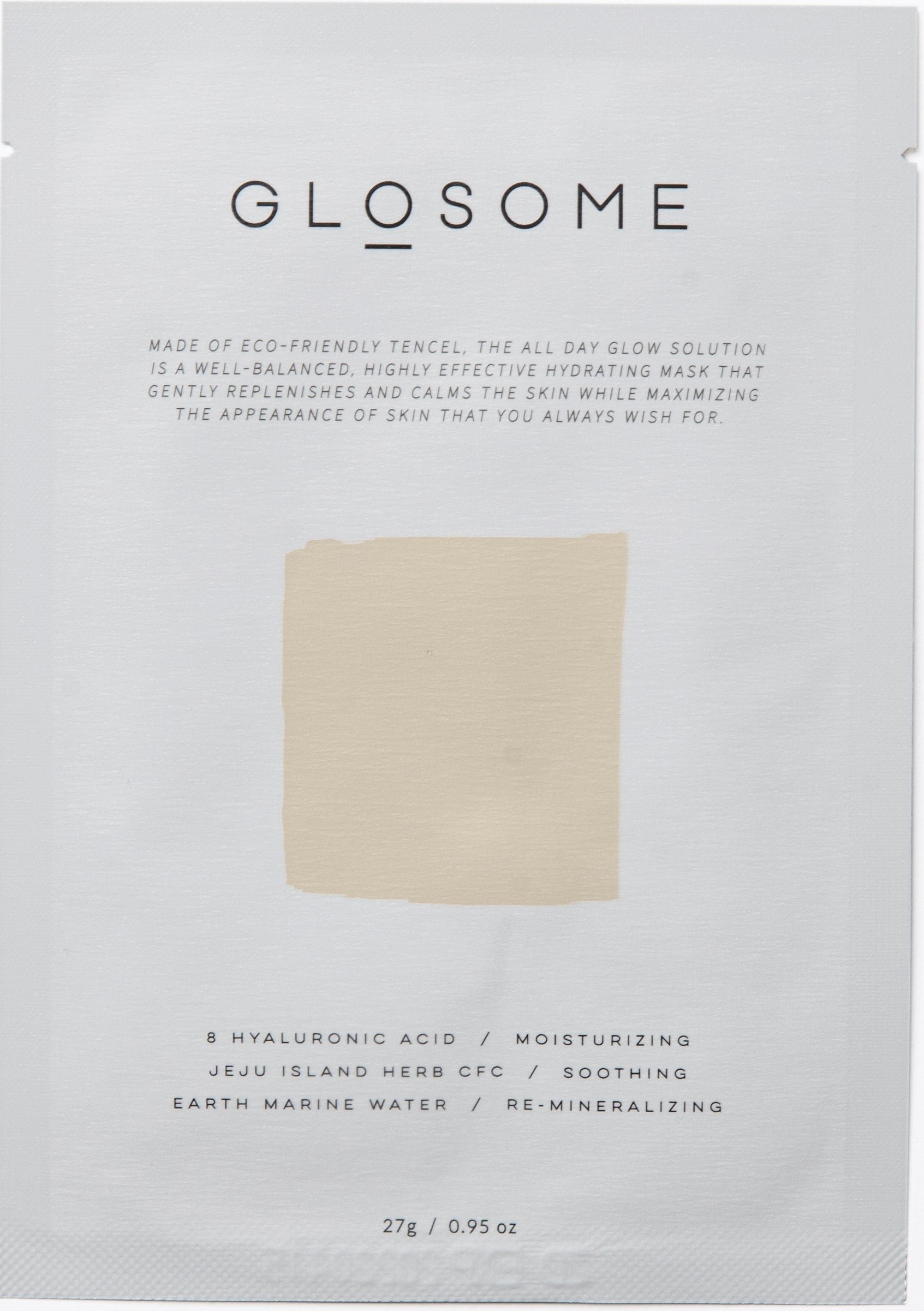 GLOSOME-ALL-DAY-GLOW-SOLUTION-TENCEL-SHEET-MASK