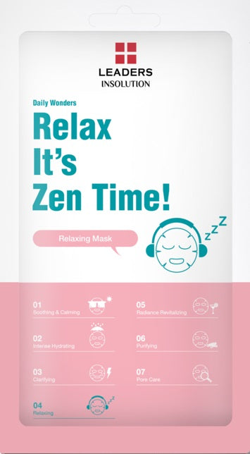 Leaders-daily-wonders-relax-its-zen-time-sheet-mask-biocellulose