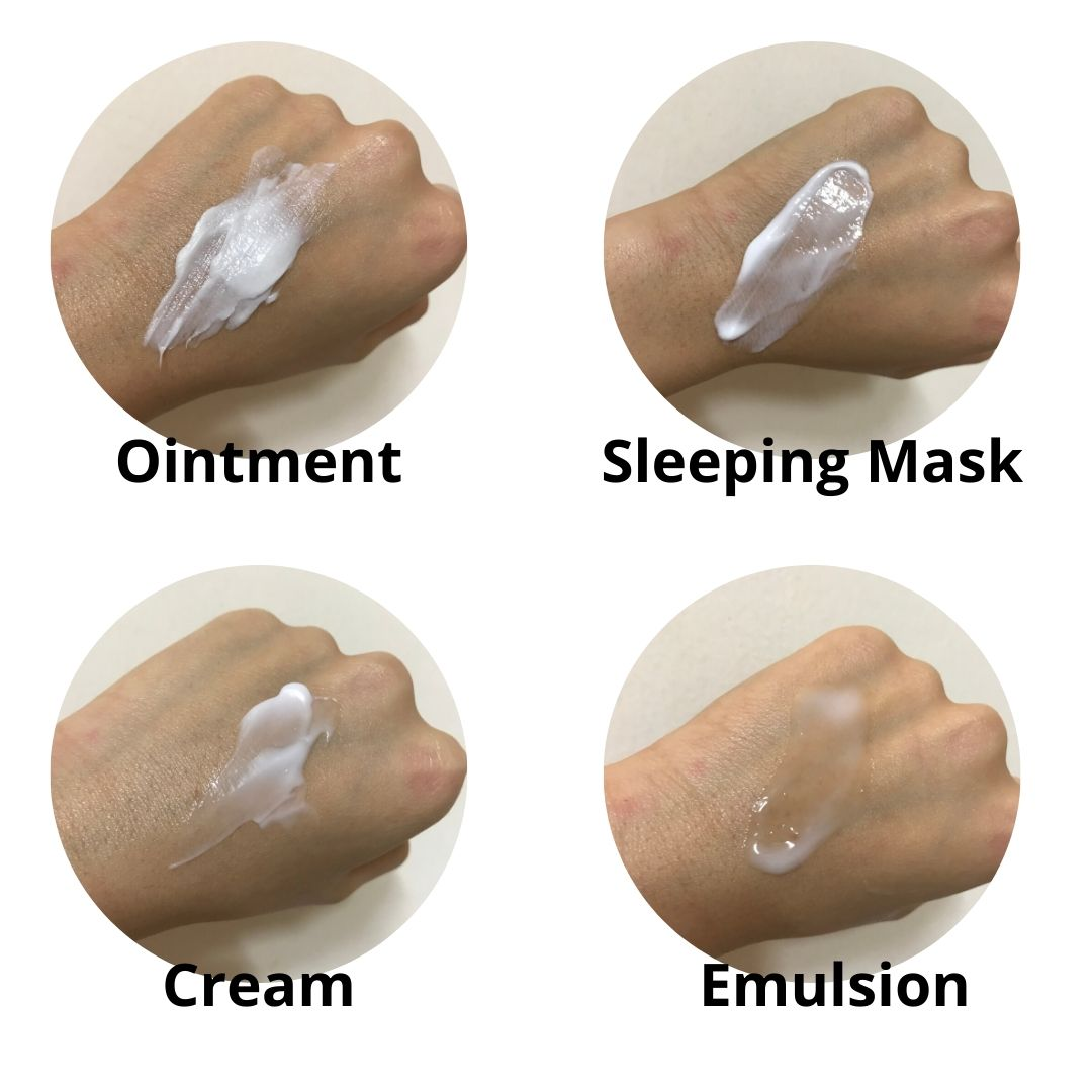 ointments-sleeping-masks-creams-emulsions
