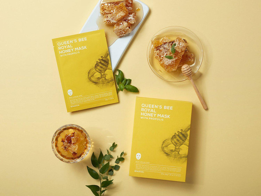 BEAUDIANI QUEEN BEE ROYAL HONEY MASK SKIN LIBRARY
