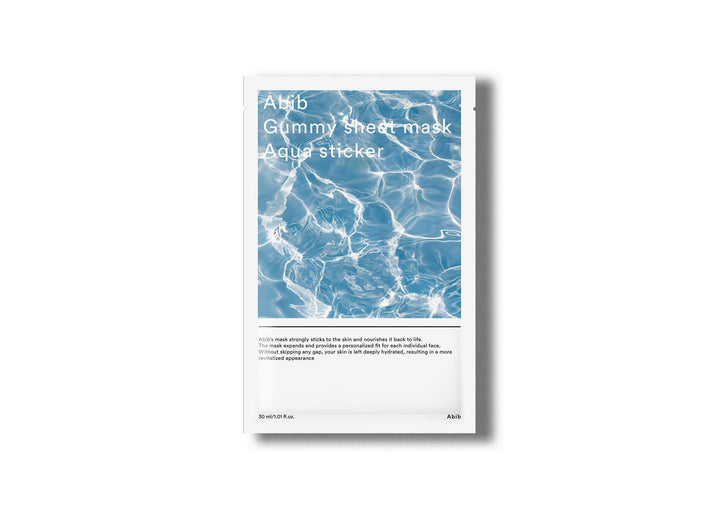 ABIB Gummy Sheet Mask Aqua Sticker Skin Library
