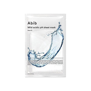ABIB Mild Acidic pH Sheet Mask Aqua Fit - Skin Library UK