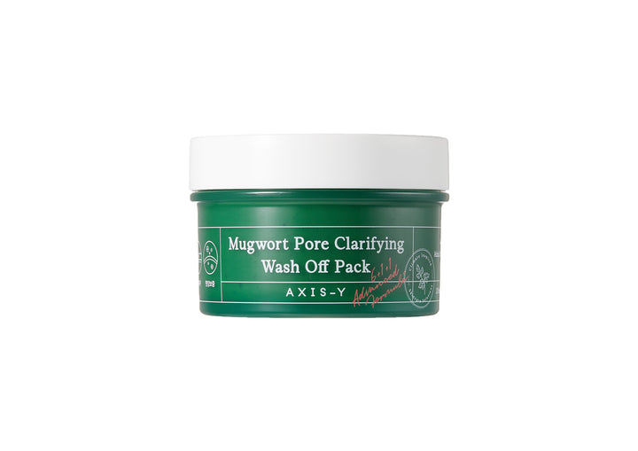 AXIS-Y Mugwort Pore Clarifying Wash-Off Pack - Korean skincare UK | Skin Library UK