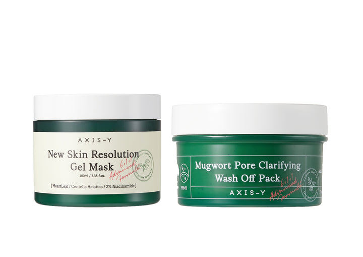 AXIS-Y Wash Off Mask Duo Set