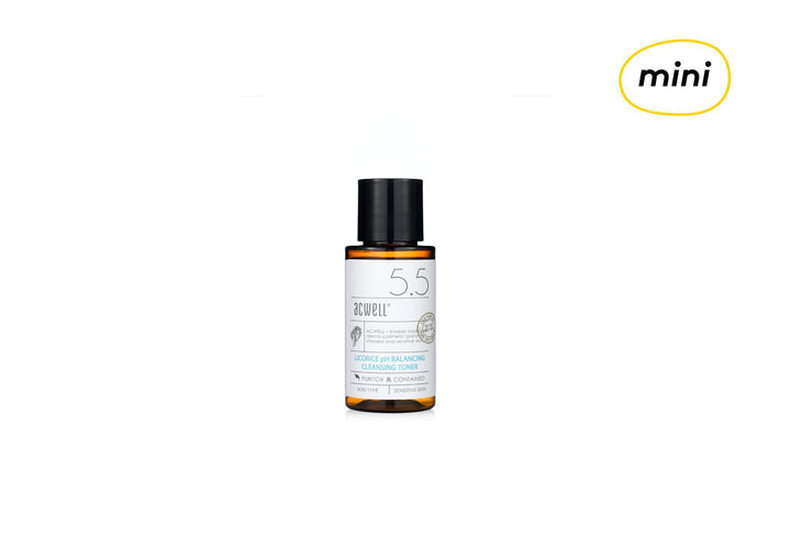 [MINI] ACWELL Licorice pH Balancing Cleansing Toner 30ml - skin library uk