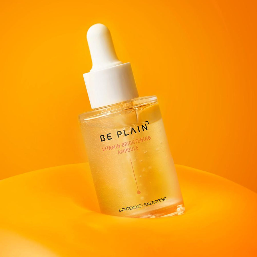 BE PLAIN Vitamin Brightening Ampoule - For Dull Skin - Korean Skincare - Skin Library UK