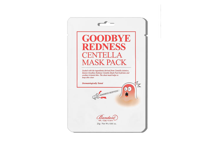 BENTON Goodbye Redness Centella Mask Pack - Skin Library UK