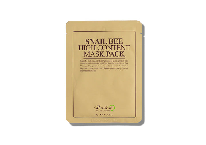 BENTON Snail Bee High Content Mask Pack - Skin Library UK